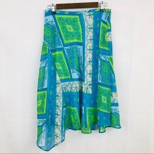 Nine West 💫 Patchwork Summer Skirt~ Adorable!